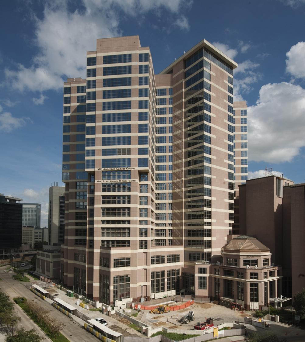 MD Anderson Cancer Center Alkek Vertical Expansion