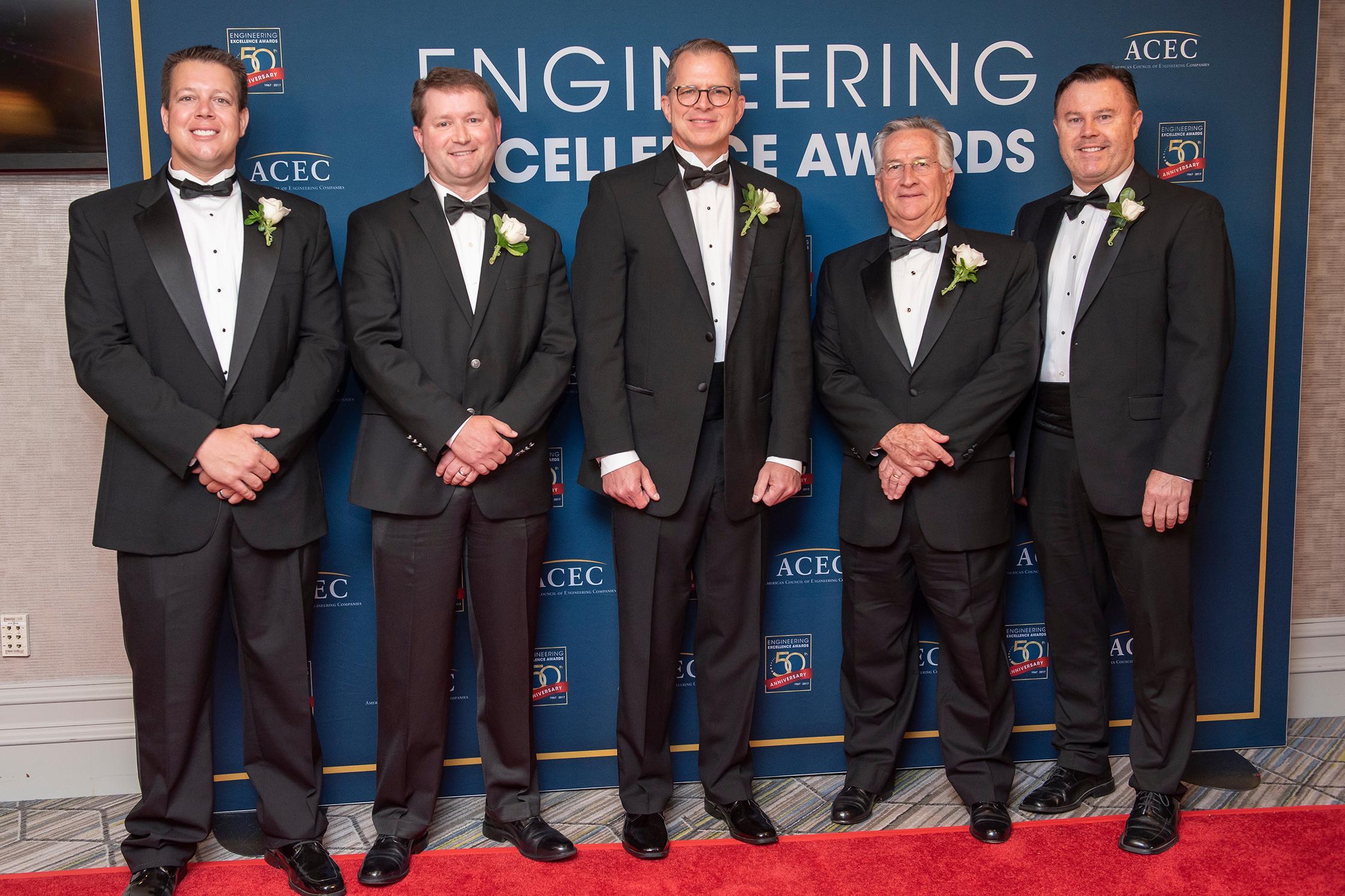 Walter P Moore wins National ACEC Award
