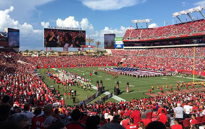 a better ship for the buccaneers raymond james stadium renovations walter p moore raymond james stadium renovations