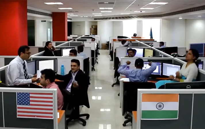 Pune office channels their inner Beatles