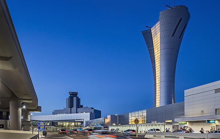 SFO Air Traffic Control Tower