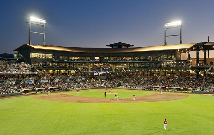 Southwest University Ballpark El Paso Chihuahuas Walter P Moore