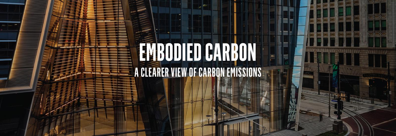 Embodied Carbon Report