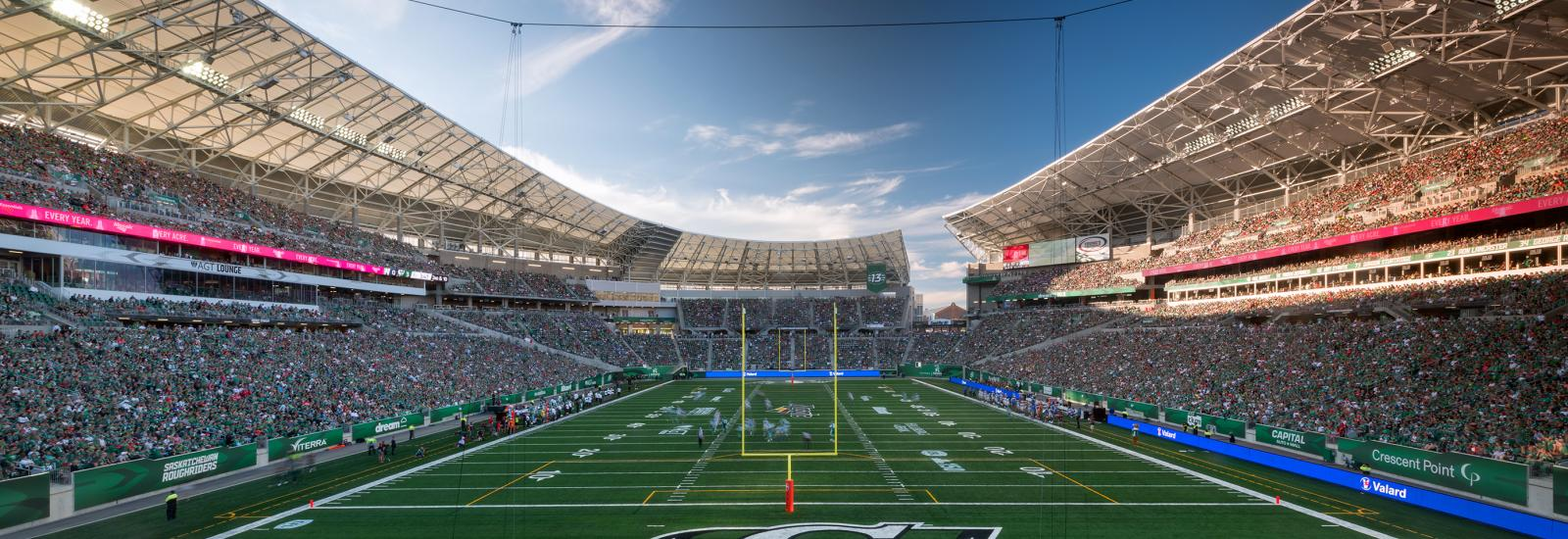 Mosaic Stadium Named Gold Medal Winner