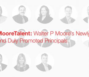 Walter P Moore 2016 Principal Promotions
