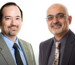 Brian Lozano and Armen Megerdoomian