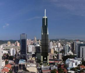Financial Tower Skyline