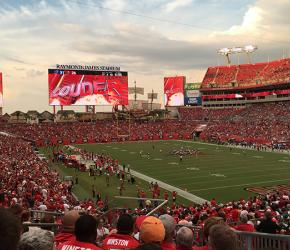 Raymond James Stadium game day
