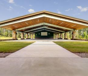 Boy Scouts of America Camp Strake pavilion