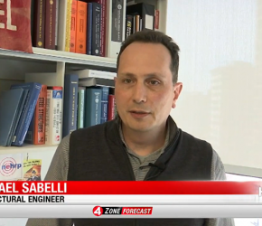 Walter P Moore's Rafael Sabelli talks to KRON 4 San Francisco