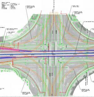 Sam Houston Tollway Southeast Schematic Design