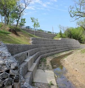 Creekview Retaining Wall and Roadway Improvements