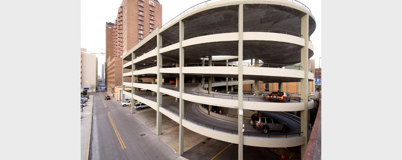 Helix-On-Main Parking Structure Renovation