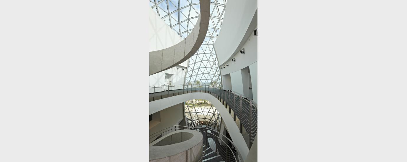 The Dali Museum Second Floor Lobby