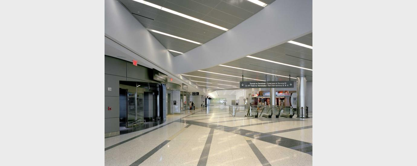 IAH International Arrivals Building