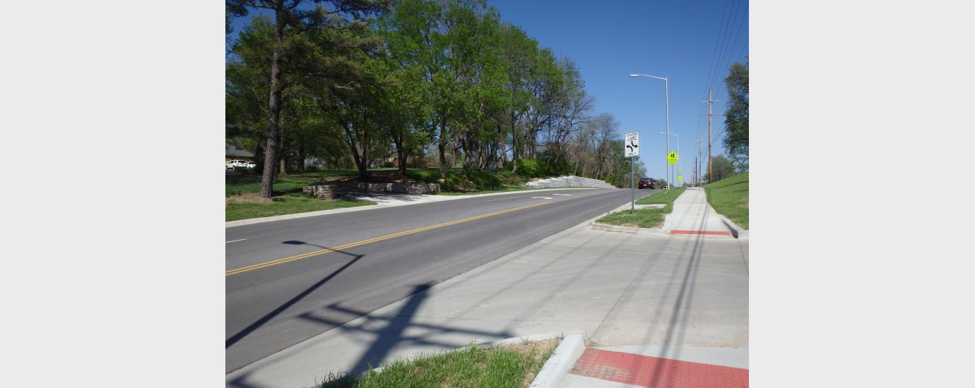 NW 72nd St Improvements from MO Rte 9 to NW Prairie View Rd
