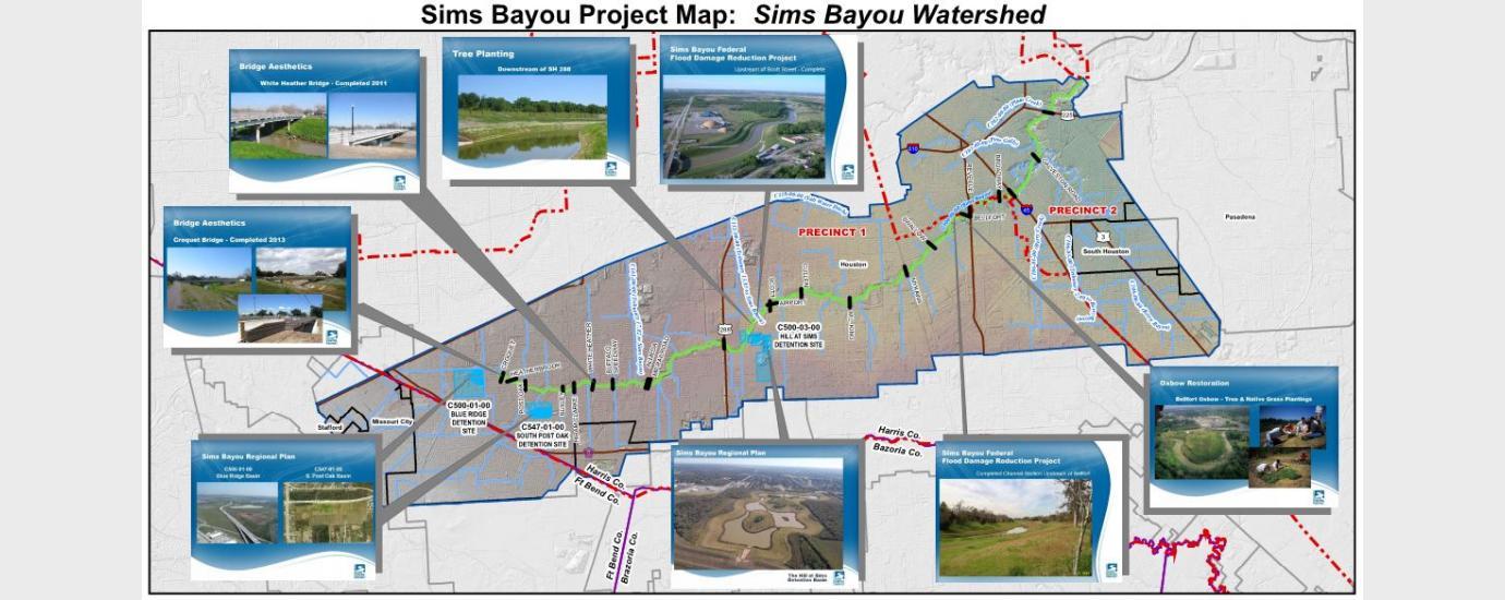 Sims Bayou Risk MAP (Phase 1)