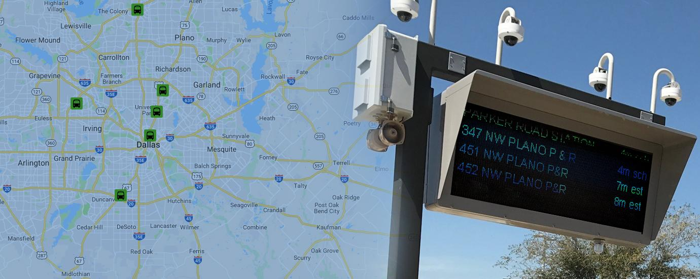 Dallas-Area Transit System / Bus Shelter Software