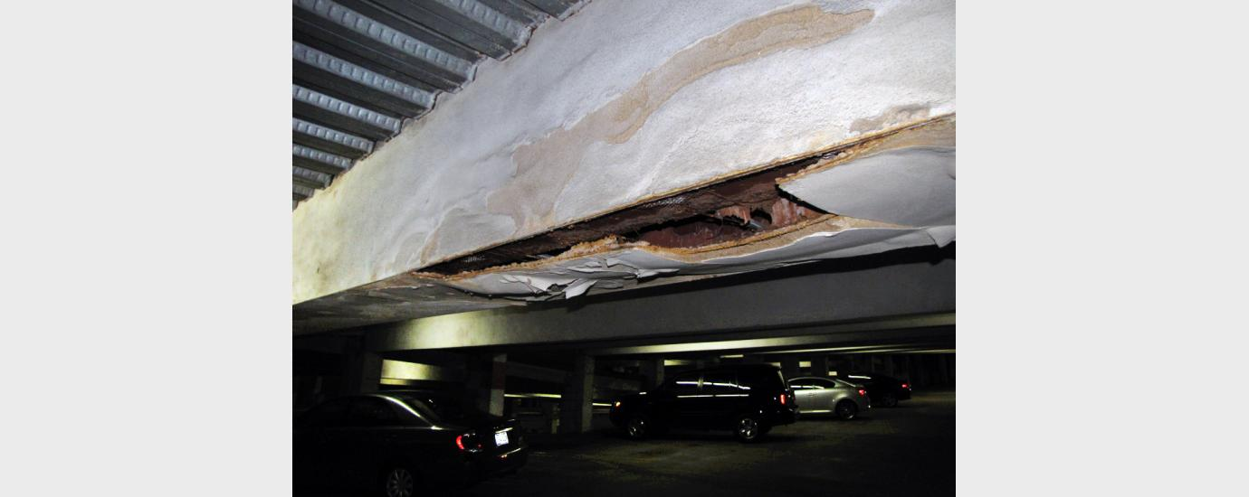 One Riverway Garage Collapse
