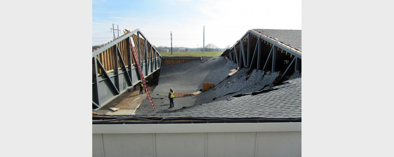 Police Shooting Range Roof Collapse Walter P Moore