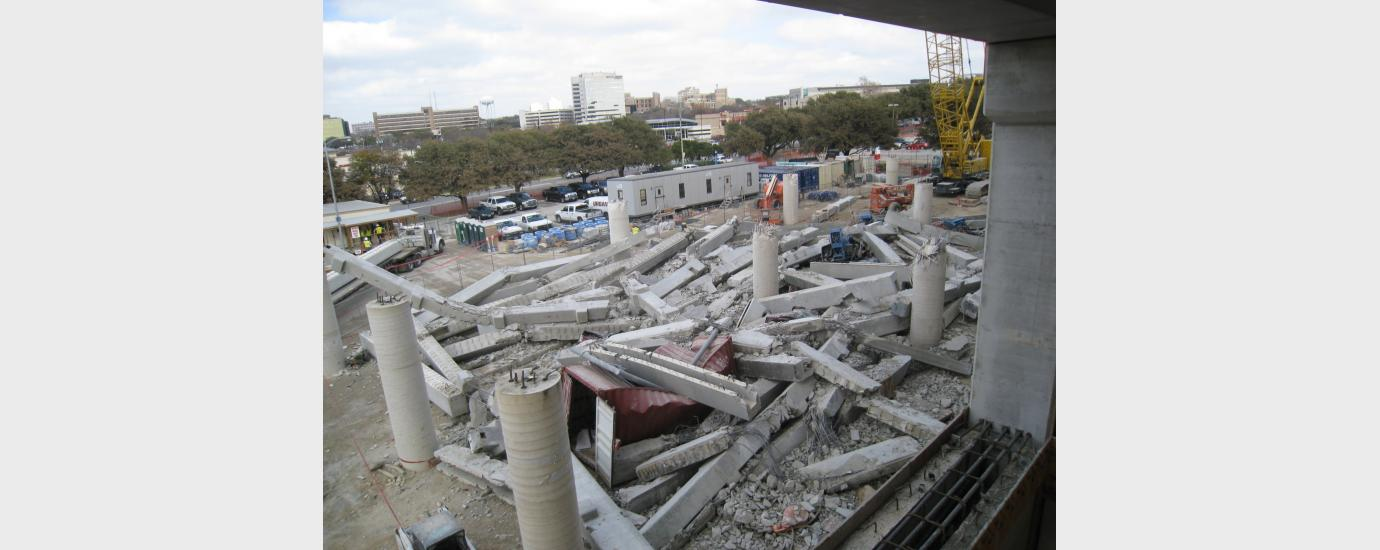 West Parking Garage Collapse Analysis