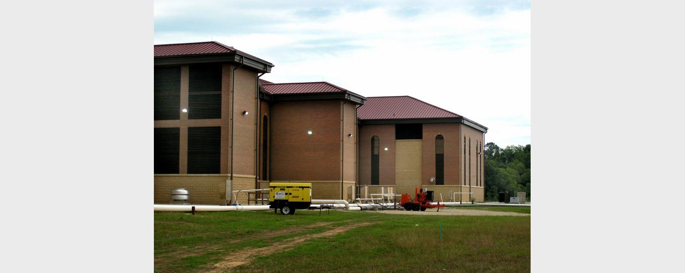 Valley Creek Wastewater Treatment Plant Repairs