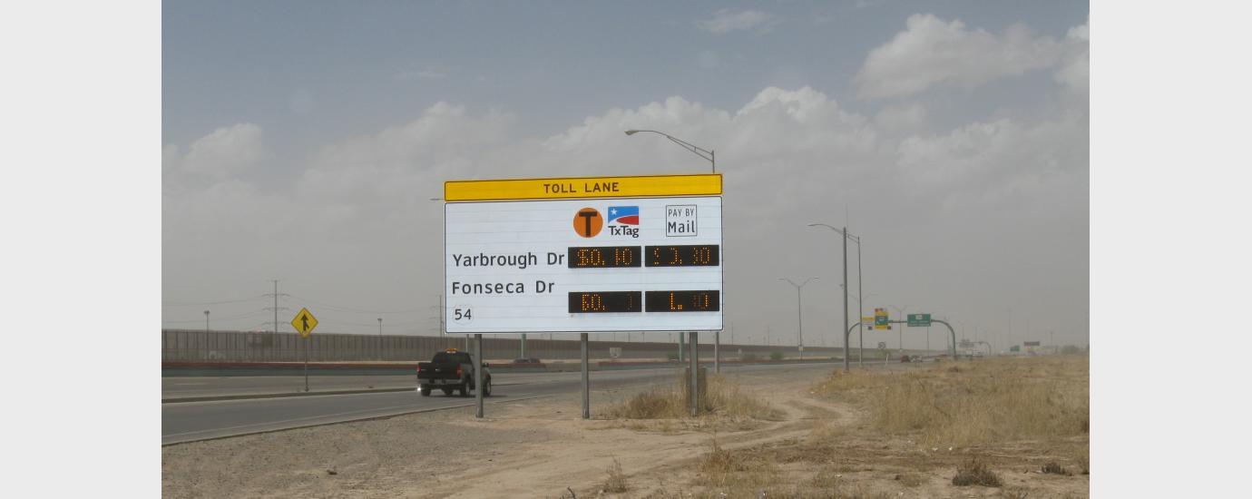 Border Highway West Loop 375 Toll Road