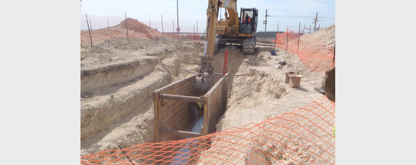 Fort Hood Hangar Water Supply System