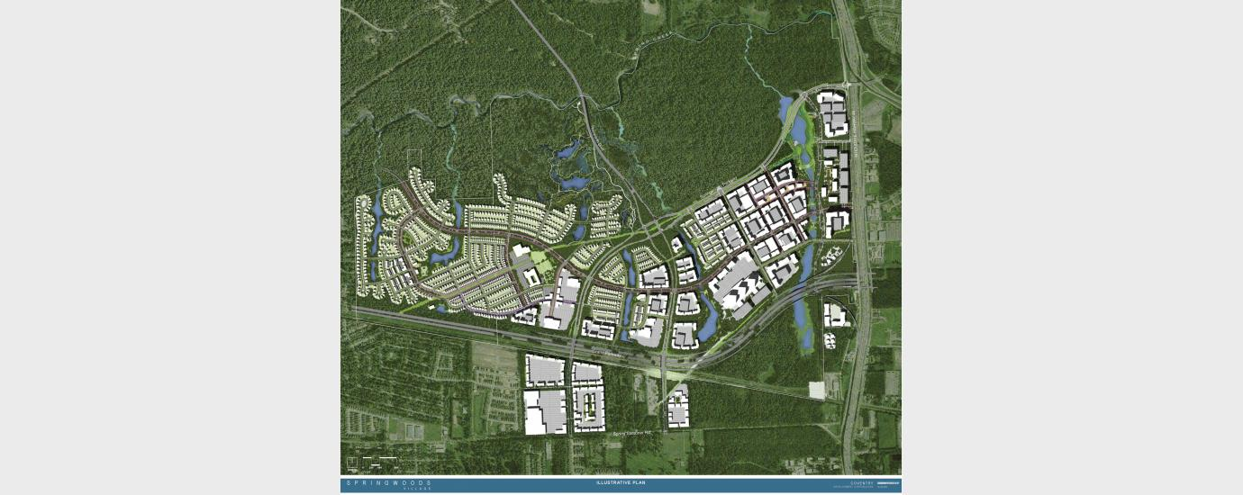 Springwoods Village Master Plan and Community Development