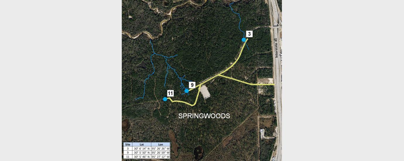 Springwoods Village Storm Water Monitoring Program