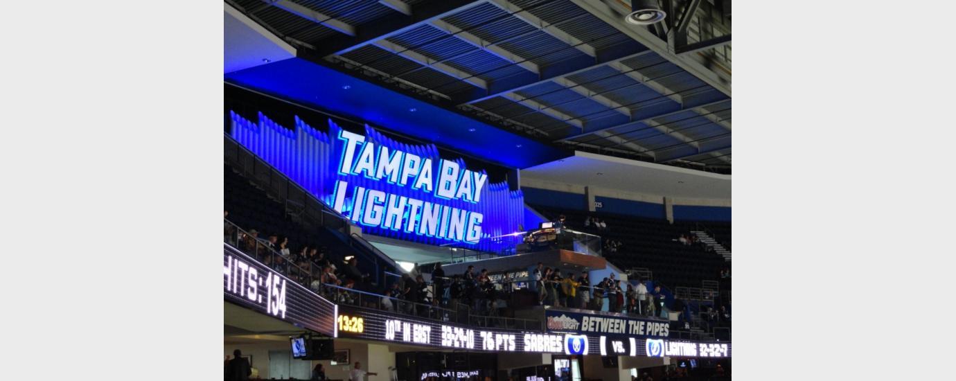 Tampa Bay Lightning Amalie Arena Renovation