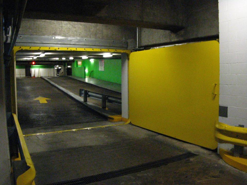 Theater district underground parking garage houston home for Garage doors of houston
