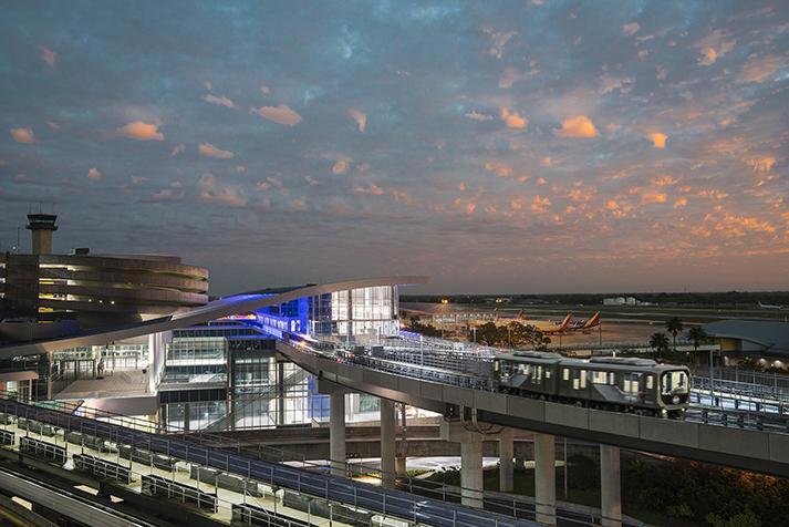 Tampa International Airport ConRAC and Automated People Mover