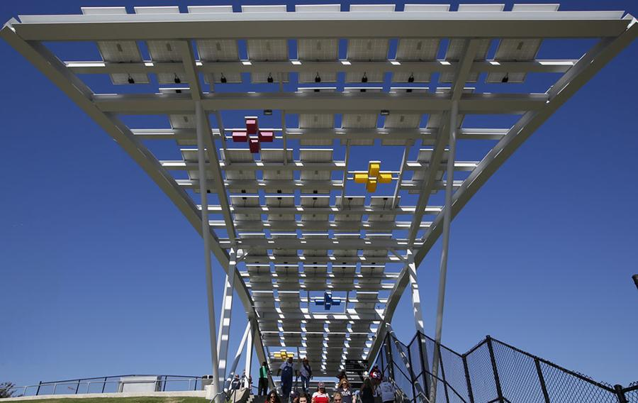 NRG Solar Panel Walkways