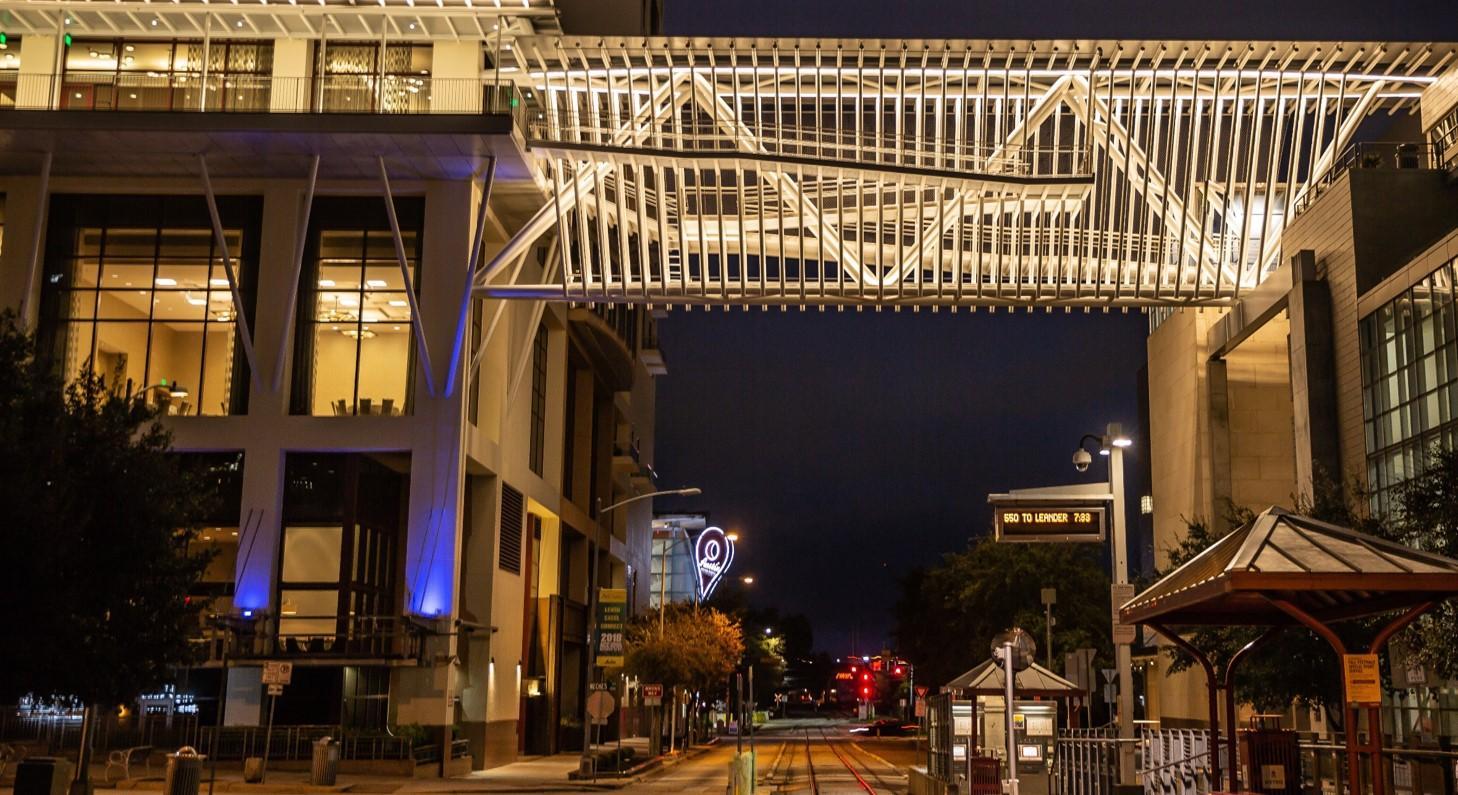 Hilton Overhead Walkway