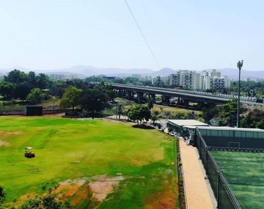 View from a balcony in Pune, India