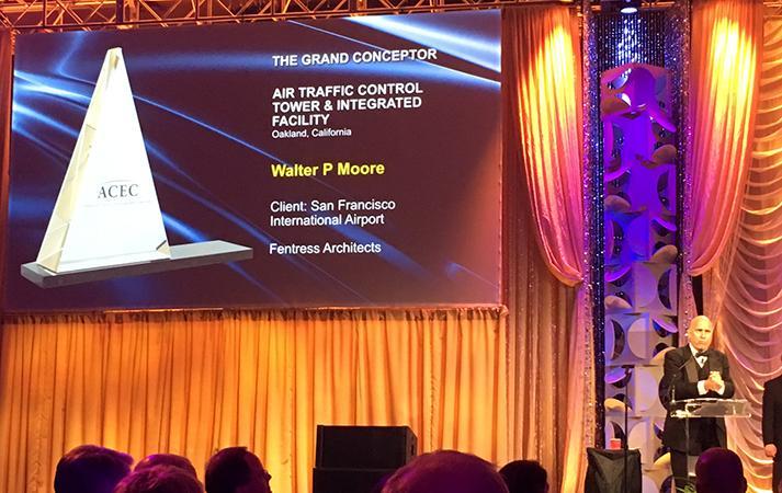 ACEC 2016 Gala - Grand Conceptor Walter P Moore SFO