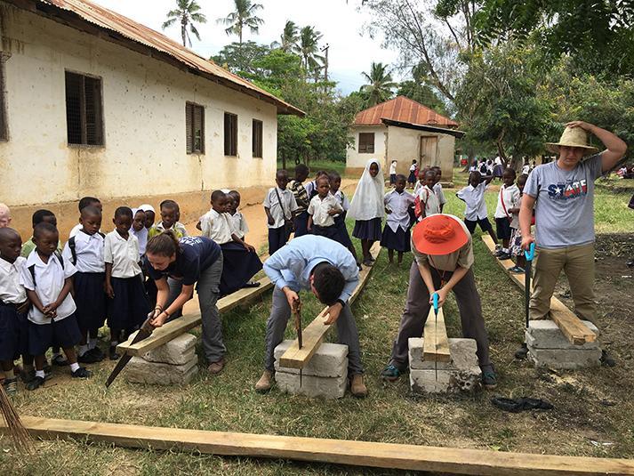 Tanzania Pongwe Primary School Dorm Construction
