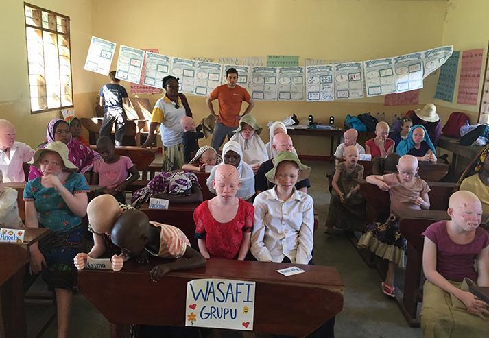 Tanzania Pongwe Primary School Classroom