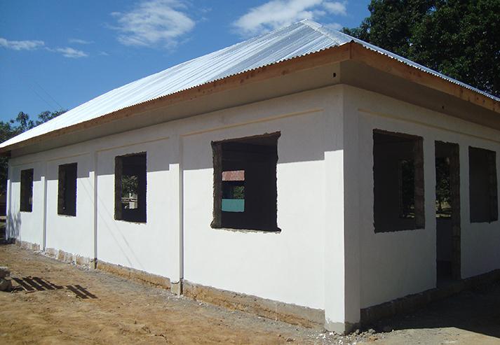 Tanzania Pongwe Primary School Construction Progress