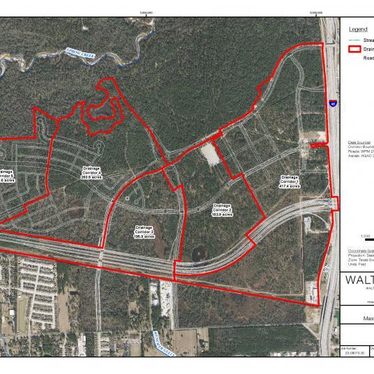 Springwoods Village Drainage Master Plan